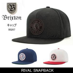 ブリクストン BRIXTON RIVAL SNAPBACK /00267 【帽子】 キャップ 帽子 ストリート アウトドア 秋冬物|highball