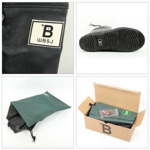【新色】日本野鳥の会 バードウォッチング長靴 限定カラー・ブラック BLACK アウトドア キャンプ パッカブル 野外 ライブ フェス メンズ レディース|highball|05