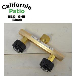 California Patio カリフォルニアパティオ カセットガスアダプター2本タイプ+検圧プラグ 【ガス供給器/カセットガスアダプター/キャンプ/アウトドア】 highball