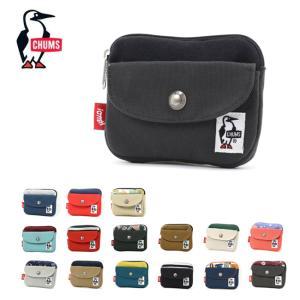 CHUMS チャムス Pocket Size Wallet Sweat Nylon ポケットサイズウォレットスウェットナイロン CH60-2924 【ミニ財布/コインケース】【メール便・代引不可】|highball