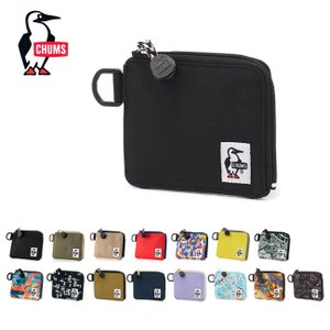 CHUMS チャムス Recycle L-Shaped Zip Wallet リサイクルエルシェイプトジップウォレット CH60-3137 【財布/コンパクト/ミニ】【メール便・代引不可】|highball