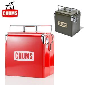 CHUMS チャムス Steel Cooler Box スチールクーラーボックス CH62-1128 【アウトドア/キャンプ/保冷】|highball