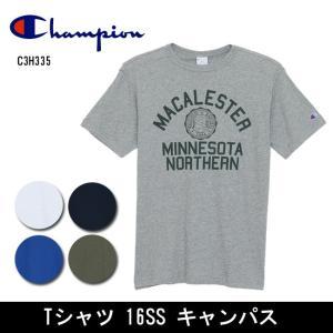 Champion/チャンピオン  Tシャツ Tシャツ 16SS キャンパス C3H335 【服】【メール便・代引不可】|highball