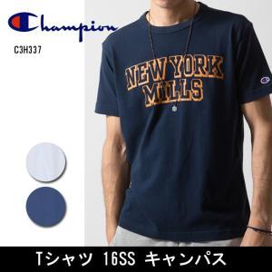 Champion/チャンピオン  Tシャツ Tシャツ 16SS キャンパス C3H337 【服】【メール便・代引不可】|highball