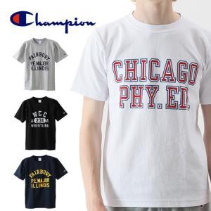 Champion/チャンピオン Tシャツ リバースウィーブTシャツ リバースウィーブ チャンピオン C3-M302 半袖Tシャツ ファッション アウトドア スポーツ フェス|highball