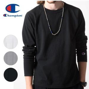 Champion チャンピオン T1011(ティーテンイレブン) ラグランロングスリーブTシャツ  C5-Y401 【アウトドア/メンズ/ロングスリーブ】|highball