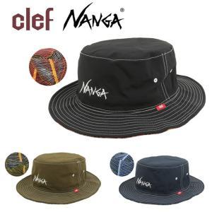 clef クレ NANGA×Clerf コラボ REV.HAT NAC004 【ハット/アウトドア/キャンプ/フェス/リバーシブル/ナンガ】|highball