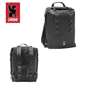 CHROME/クローム バッグパック EXCURSION ROLLTOP 37/BLACK/ブラック ロールトップ|highball