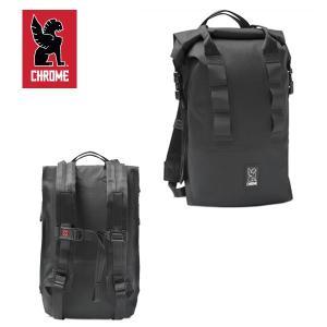 CHROME/クローム バッグパック URBAN EX ROLLTOP 18/BLACK/ブラック ロールトップ|highball