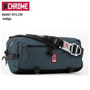 CHROME クローム メッセンジャーバッグ KADET Nylon  Indigo/BG196 【カバン】カデット/日本正規品|highball
