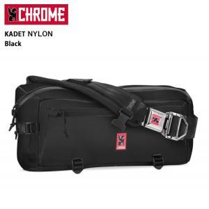 CHROME クローム メッセンジャーバッグ KADET Nylon  Black/BG196 【カバン】カデット/日本正規品|highball