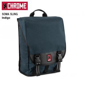 CHROME クローム SOMA SLING(ソーマ スリング) Indigo/BG208 【カバン】SOMA 2.0 スリングバッグ バックパック シングルストラップ ファッション おしゃれ|highball