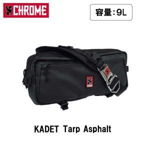 CHROME クローム KADET Tarp Asphalt BG189 【カバン】 メッセンジャーバッグ ボディバッグ ウェストバッグ ファッション おしゃれ カデット/日本正規品|highball