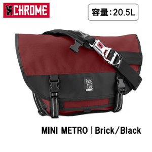 CHROME クローム MINI METRO Brick/Black BG001 【カバン】 メッセンジャーバッグ ショルダーバッグ ファッション おしゃれ|highball
