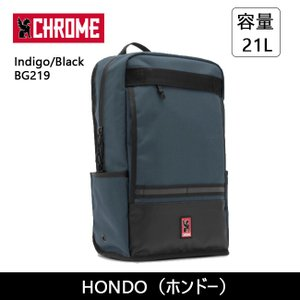 CHROME クローム HONDO(ホンドー) Indigo/Black BG219 【カバン】 バックバック デイパック ファッション おしゃれ|highball