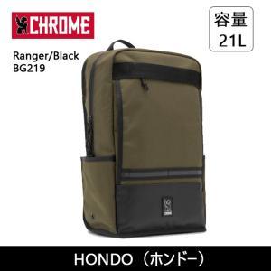 CHROME クローム HONDO(ホンドー) Ranger/Black BG219 【カバン】 バックバック デイパック ファッション おしゃれ|highball