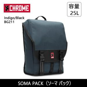 CHROME クローム SOMA PACK(ソーマ パック) Indigo/Black BG211 【カバン】 バックバック デイパック ファッション おしゃれ|highball
