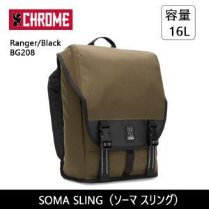 CHROME クローム SOMA SLING(ソーマ スリング) Ranger/Black BG208 SOMA 2.0 スリングバッグ バックパック シングルストラップ|highball