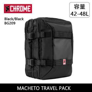 CHROME クローム MACHETO TRAVEL PACK Black/Black BG209 【カバン】 トラベルパック 旅行カバン|highball