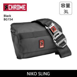 CHROME クローム NIKO SLING Black BG154 【カバン】 ショルダーバッグ ファッション おしゃれ|highball