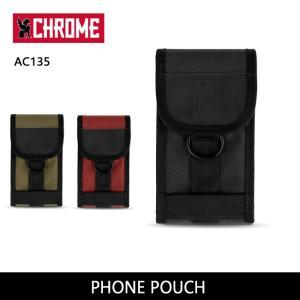 CHROME クローム PHONE POUCH AC135 【カバン】 ポーチ スマートフォンケース アクセサリーポーチ ファッション おしゃれ【メール便・代引不可】|highball