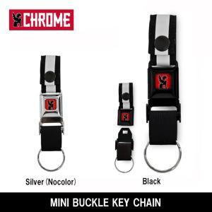 CHROME クローム MINI BUCKLE KEY CHAIN(ミニバックルキーチェーン) AC103 【雑貨】 キーチェーン クイックリリース【メール便・代引不可】|highball