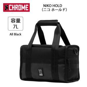 CHROME クローム カメラバッグ NIKO HOLD(ニコ ホールド) All Black BG235 【カバン】手提げ カメラ アクセサリー Camera ケース|highball