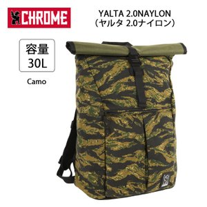 CHROME クローム バックパック YALTA 2.0NAYLON(ヤルタ 2.0ナイロン) Camo BG194 【カバン】リュック 通勤 通学 自転車|highball