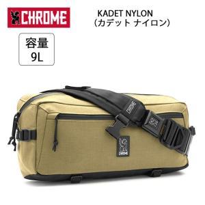 CHROME クローム メッセンジャーバッグ KADET NYLON(カデット ナイロン) Bronze Age/Black BG196 【カバン】ボディバッグ 通勤 通学 自転車|highball