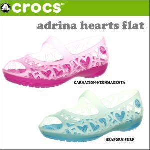 クロックス CROCSサンダル ADRINA HEARTS FLAT アドリナ ハート フラット crs-025 highball