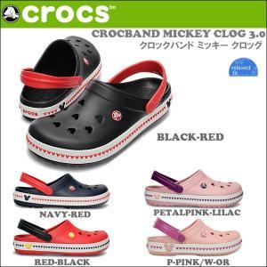 クロックス CROCSサンダル CROCBAND MICKEY CLOG 3.0 クロックバンド ミッキー クロッグ 国内正規品 crs-032 highball