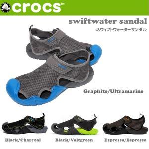 クロックス CROCS サンダル swiftwater sandal m スウィフトウォーターサンダル/メンズ クロックス/15041 highball