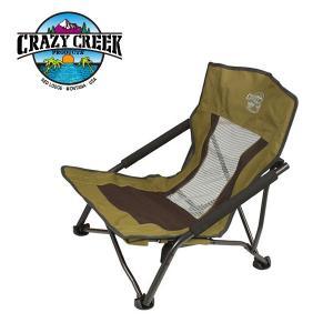 CRAZY CREEK クレージークリーク 折りたたみ椅子 レッグ クアドビーチチェア/オリーブ/12590015003000 【FUNI】【CHER】 highball