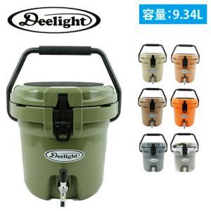 Deelight ディーライト Ice Bucket アイスバケツ 2.5ガロン ステンレス蛇口 【クーラーボックス/ウォータージャグ/保冷/アウトドア/キャンプ】|highball