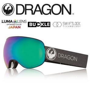 2019 DRAGON ドラゴン X2 ECHO SILVER/LUMALENSJ.GREENION  【2019/ゴーグル/日本正規品/ジャパンフィット】|highball