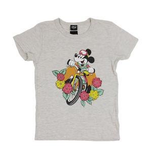 dsny-003【DISNEY/ディズニー】Tシャツ S/S TEE MICKEY MTB/OATMEAL【メール便・代引不可】|highball