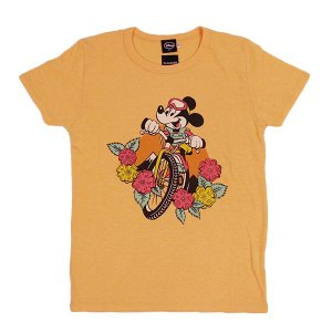 dsny-004【DISNEY/ディズニー】Tシャツ S/S TEE MICKEY MTB/H.YELLOW【メール便・代引不可】|highball