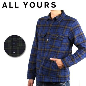 DEEPER'S WEAR ディーパーズウェア シャツ DEFENDER FLANNEL SHIRT DF160022 【服】メンズ レディース 長袖 防寒|highball