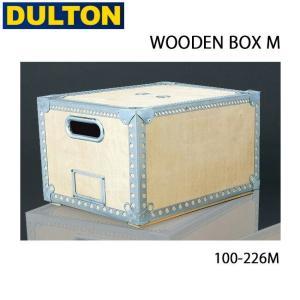 DULTON/ダルトン 収納ボックス WOODEN BOX M 100-226M|highball