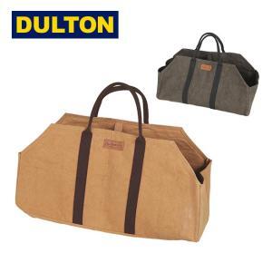 DULTON ダルトン WAX CANVAS LOG BAG ワックスキャンバスログバッグ Y959-1267 【アウトドア/薪/キャンプ/収納/工具】|highball