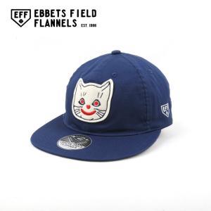 EBBETS FIELD FLANNELS エベッツフィールドフランネルズ Kansas City Katz 1961 Vintage Ballcap EFF-000-191003|highball