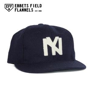 EBBETS FIELD FLANNELS エベッツフィールドフランネルズ Brooklyn Eagles 1935 Vintage Ballcap EFF-IMP-191004|highball