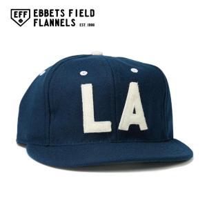 EBBETS FIELD FLANNELS エベッツフィールドフランネルズ Los Angeles Angels (PCL) 1954 Vintage Ballcap EFF-IMP-191013|highball