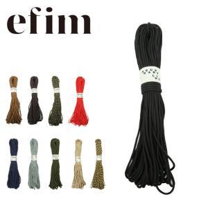 efim エフィム Power cord 30m×4mm×9芯 PO-309 【ロープ/テント/アウトドア/キャンプ】|highball