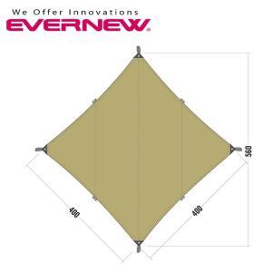 EVERNEW エバニュー Tarp TC3 ECQ203 【アウトドア/キャンプ/タープ】|highball