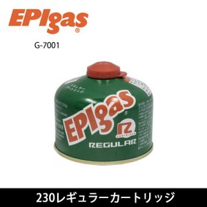 EPI イーピーアイ ガスカートリッジ 230レギュラーカートリッジ G-7001 【BBQ】【GLIL】ガスカートリッジ ガスストーブ アウトドア キャンプ 登山|highball