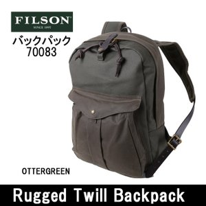 FILSON/フィルソン バックパック Rugged Twill Backpack 70083 日本正規品|highball