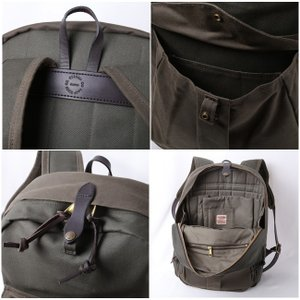 FILSON/フィルソン バックパック Rugged Twill Backpack 70083 日本正規品|highball|03