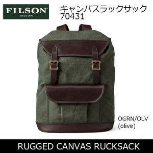 FILSON/フィルソン バックパック RUGGED CANVAS RUCKSACK 70431 【カバン】日本正規品|highball