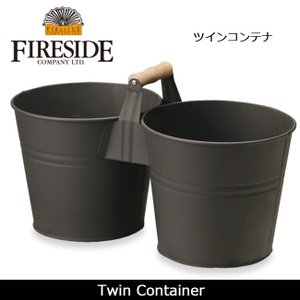 FIRESIDE ファイヤーサイド ツインコンテナ 【ZAKK】 コンテナ 小物入れ highball